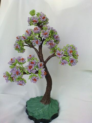 Бисероплетение деревья бонсай мастер класс - Делаем фенечки своими руками.