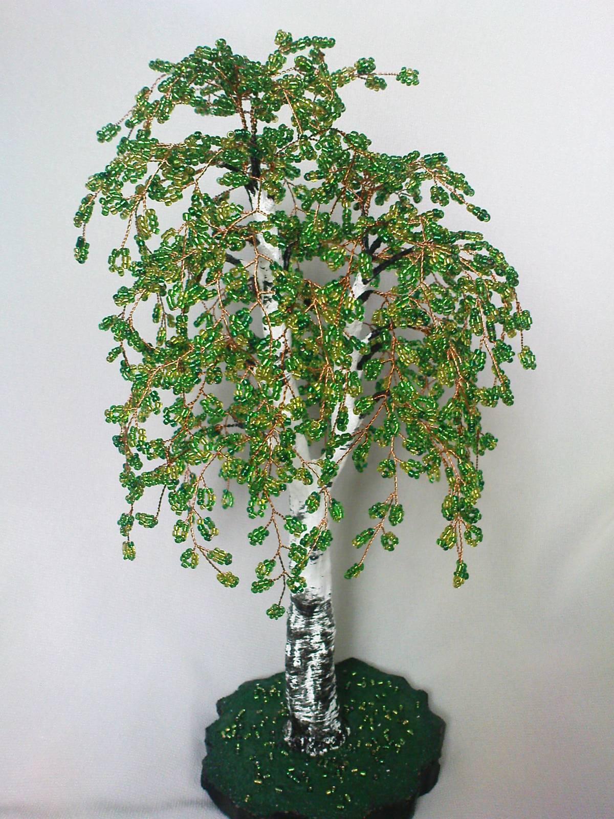 Бисероплетение деревья своими руками